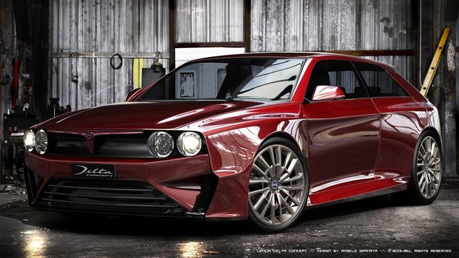 new lancia delta integrale trumpeted by fca sources 97450 1 H Lancia εξετάζει την επιστροφή της Delta Integrale!
