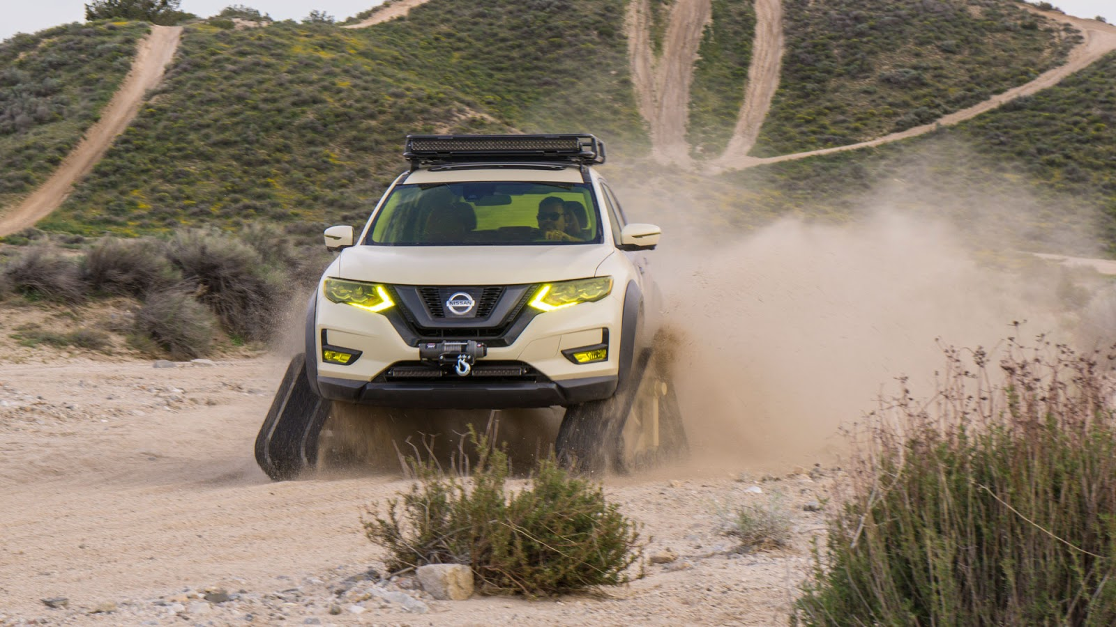 Nissan Rogue Trail Warrior Project 14 rs Nissan Rogue Trail Warrior Project : Το X-trail του... Ράμπο