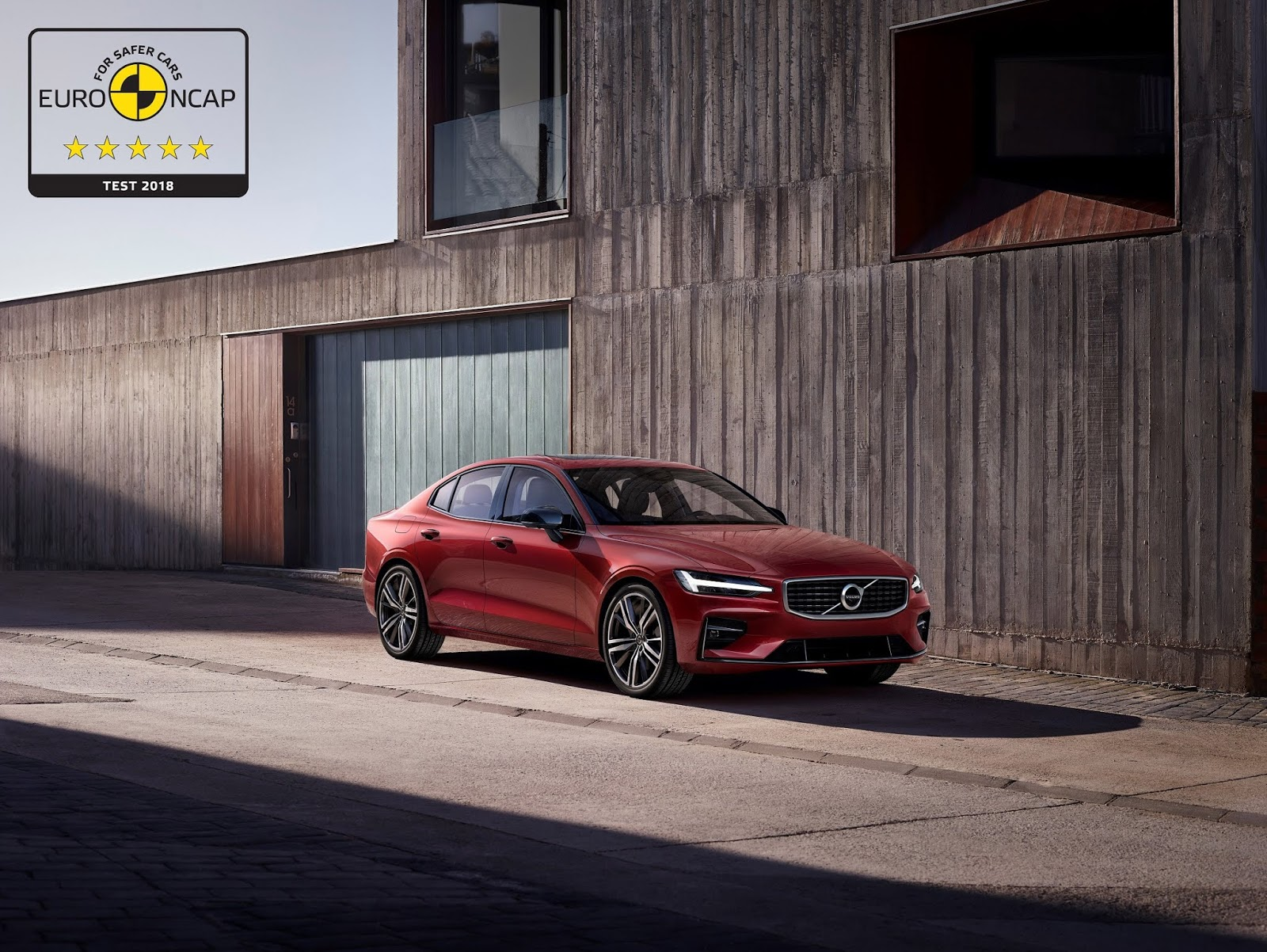 246534 Volvo S60 and V60 secure 5 star safety rating by Euro NCAP2B1 Συνεχίζουν το σερί 5 αστέρων τα Volvo S60 και V60