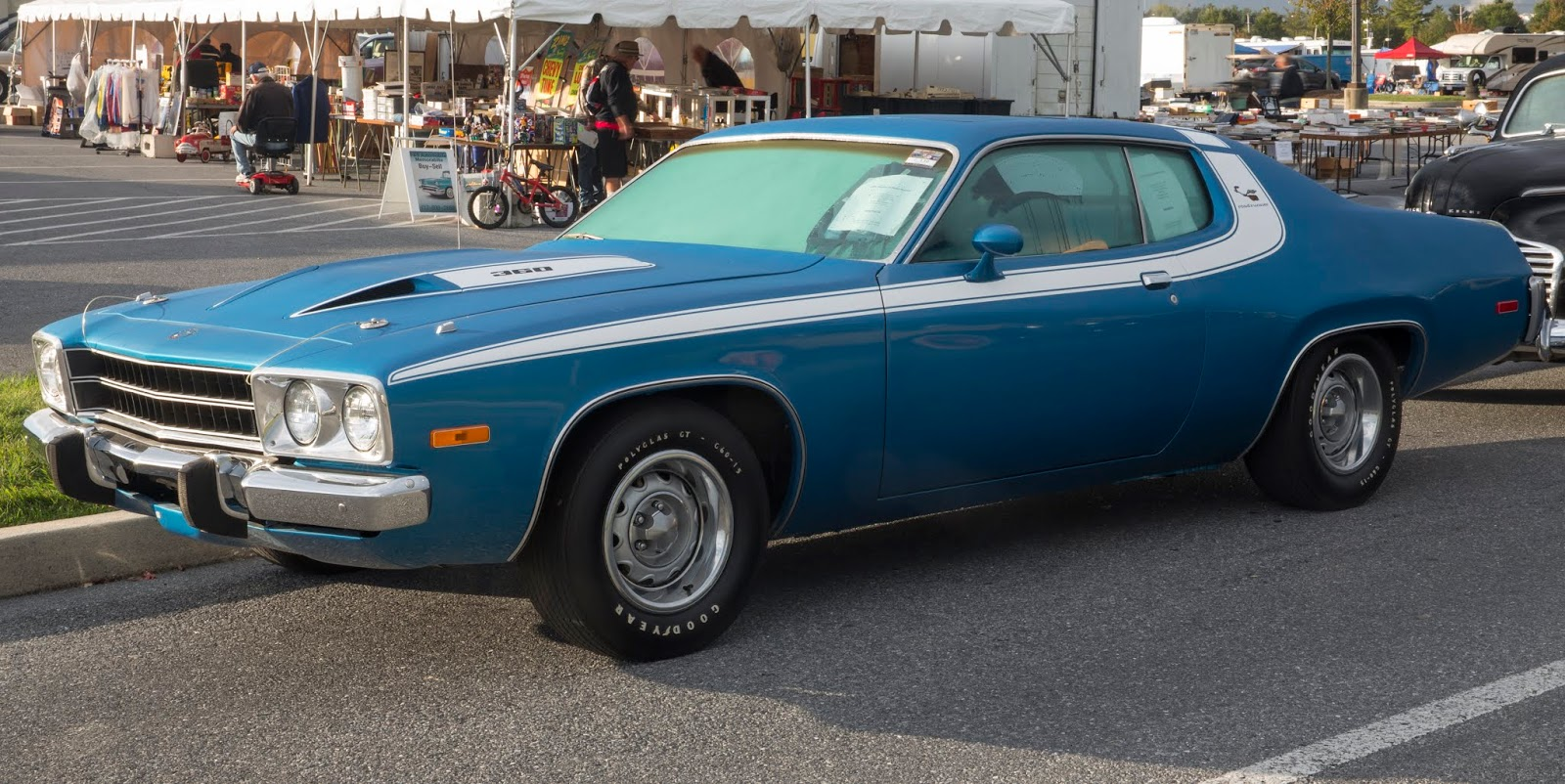 1974 Plymouth Road Runner 360 Lucerne Blue252C front left 2528Hershey 20192529 Το θρυλικό Road Runner της Plymouth