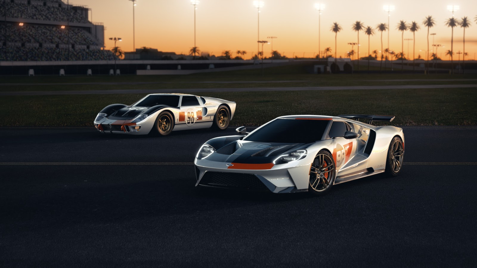 2021 Ford GT Heritage Edition 09 Η πρώτη έκδοση Heritage Edition του Ford GT και η μοναδική έκδοση, Studio Collection
