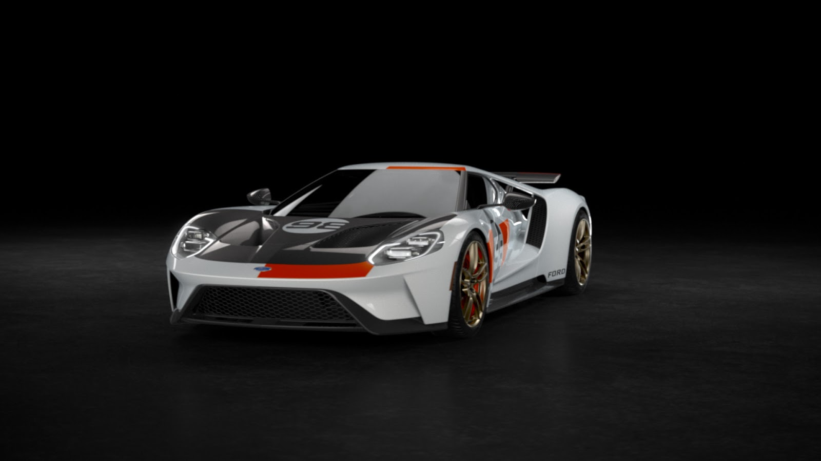 2021 Ford GT Heritage Edition 10 Η πρώτη έκδοση Heritage Edition του Ford GT και η μοναδική έκδοση, Studio Collection