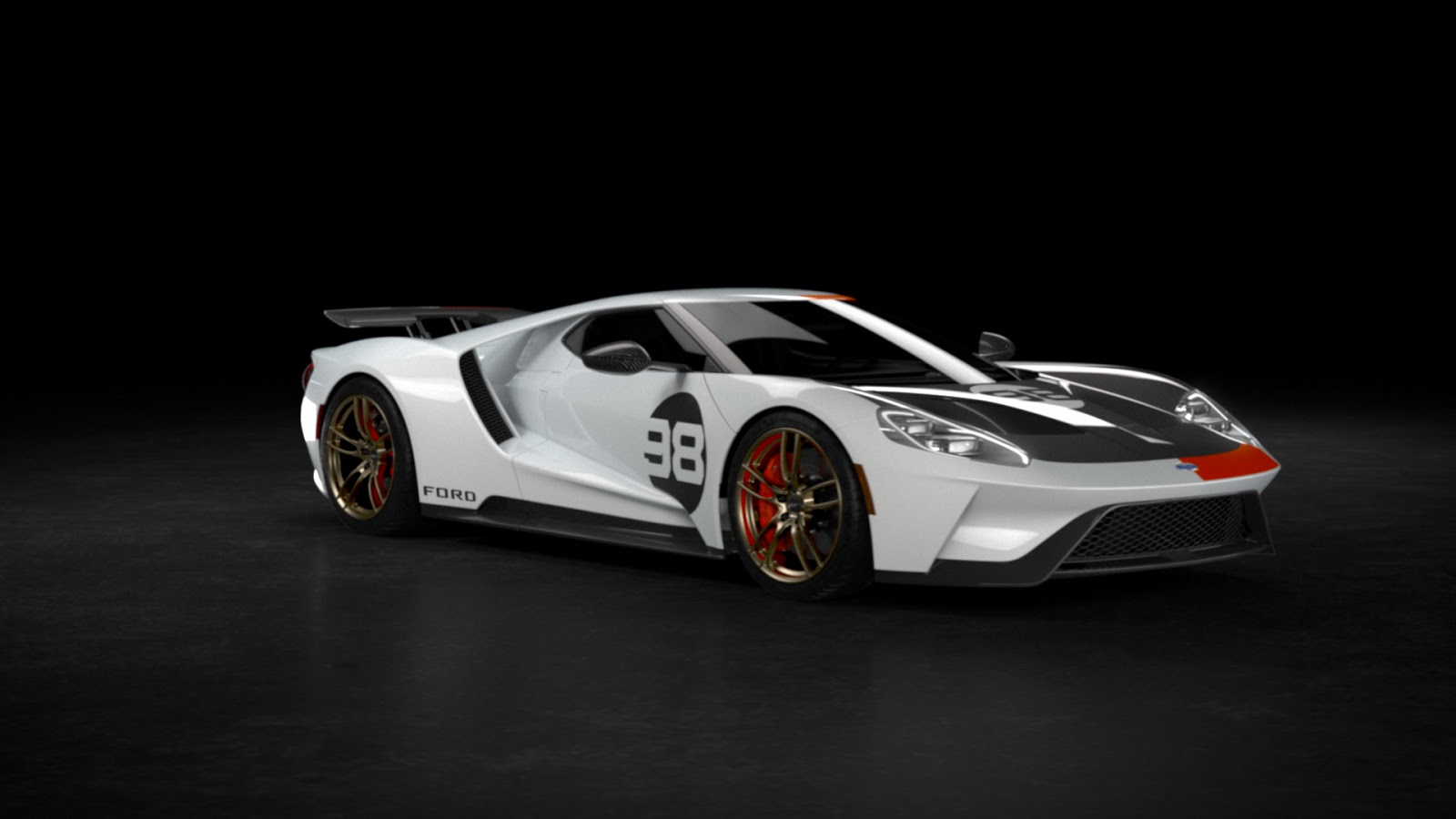2021 Ford GT Heritage Edition 11 Η πρώτη έκδοση Heritage Edition του Ford GT και η μοναδική έκδοση, Studio Collection