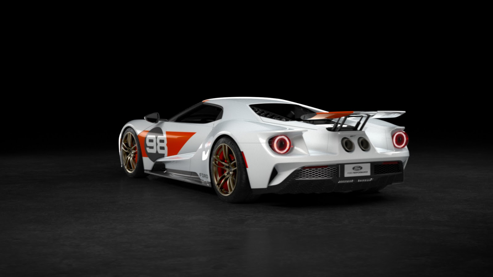 2021 Ford GT Heritage Edition 12 Η πρώτη έκδοση Heritage Edition του Ford GT και η μοναδική έκδοση, Studio Collection