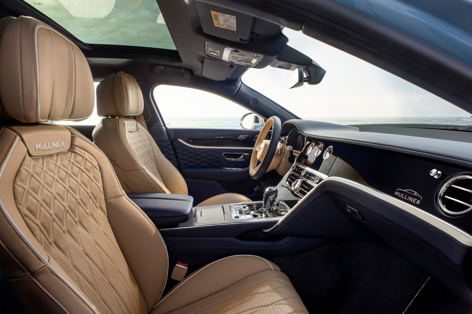 Flying Spur Mulliner 5 BENTLEY FLYING SPUR MULLINER : Κορυφαία εμπειρία Grand Touring